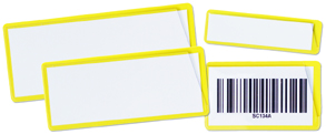 Yellow ticket pouches