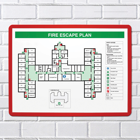 fire exit frame