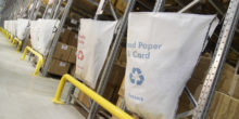 Warehouse packaging re-usable sacks