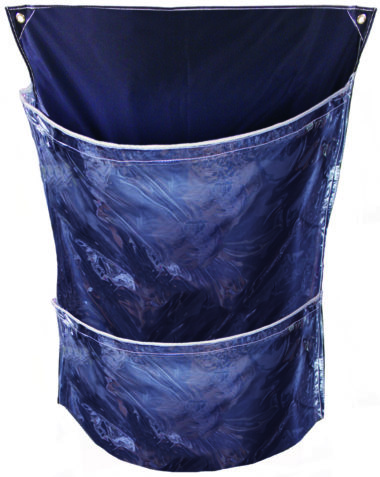 clear fronted cage sacks