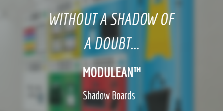 MODULEAN Modulean™ Shadow Boards Vis Comm Boards Without a shadow of a doubt blog 5s lean