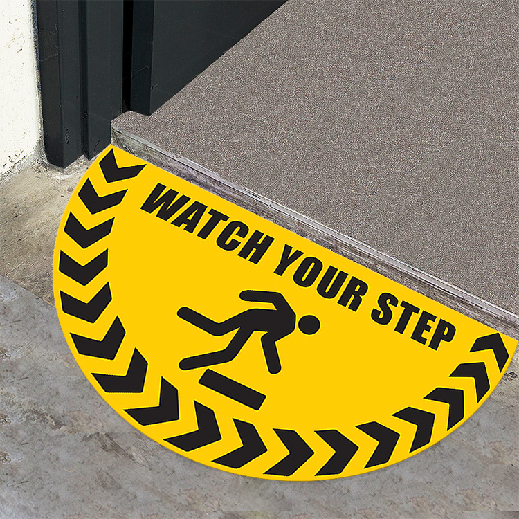 floor signs for use next to doors